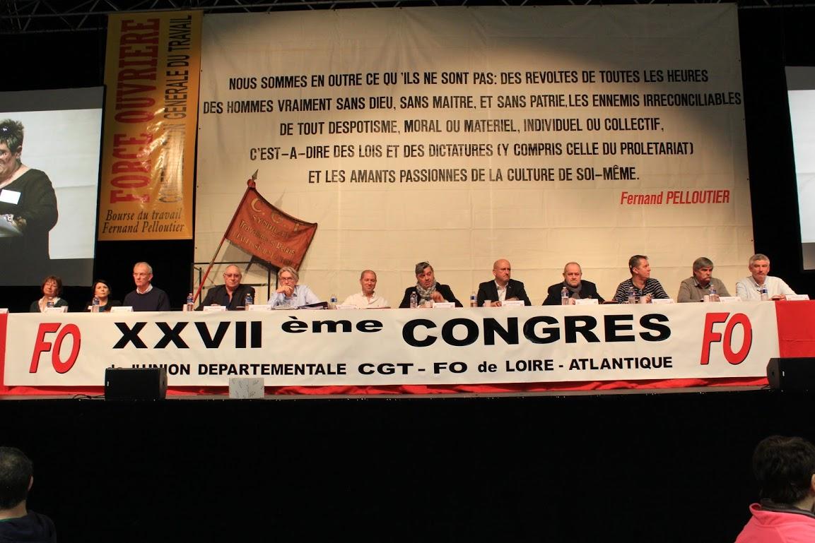 6b18351a8f3 Force Ouvrière 44 Résolution adoptée à l unanimité au congrès du 13 mars  2018 - FO44.