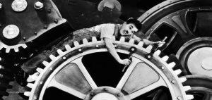 Les temps modernes - Charlie Chaplin