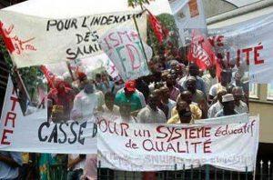 Grève des enseignants au Sénégal (2015)